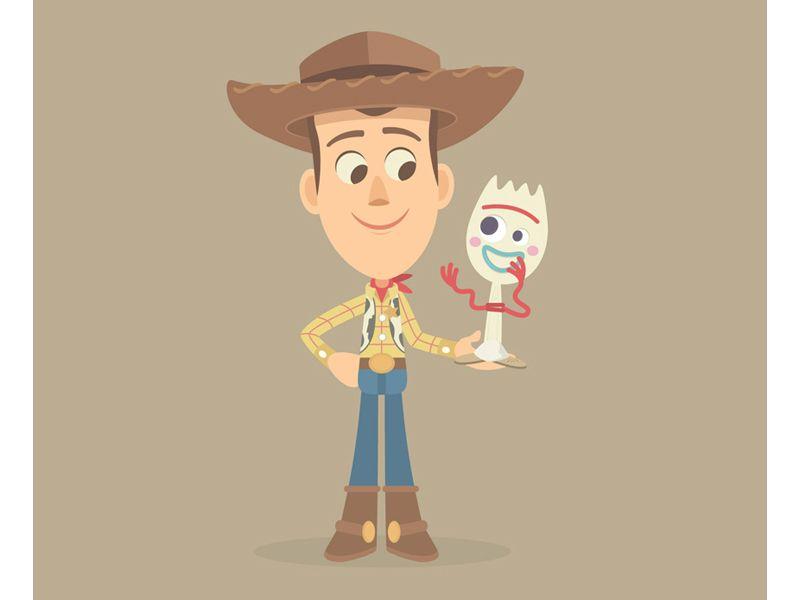 Woody And Forky Fondo De Pantalla Iphone Disney Dibujos Toy Story Fondos De Peliculas