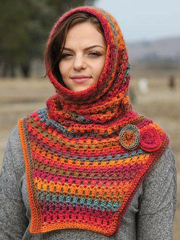 Picture of Cold Wind Cowl   crochê acessório   Pinterest   Tücher ...