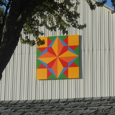 Image result for how to make a small barn quilt