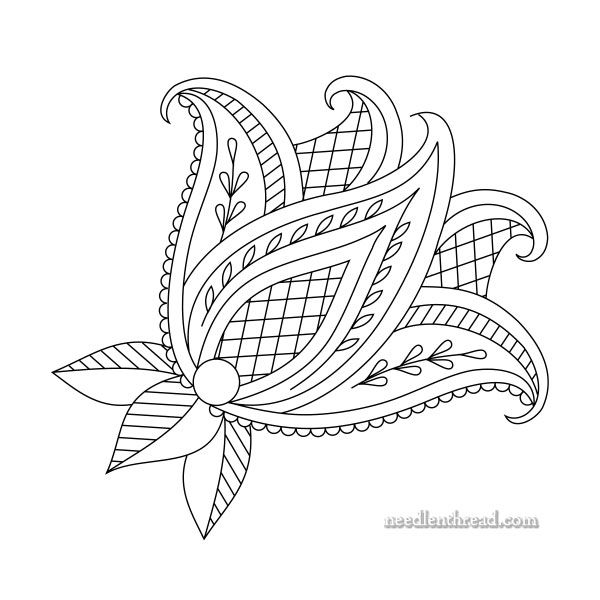 How to Make Printable Hand Embroidery Patterns | Patrones de bordado ...