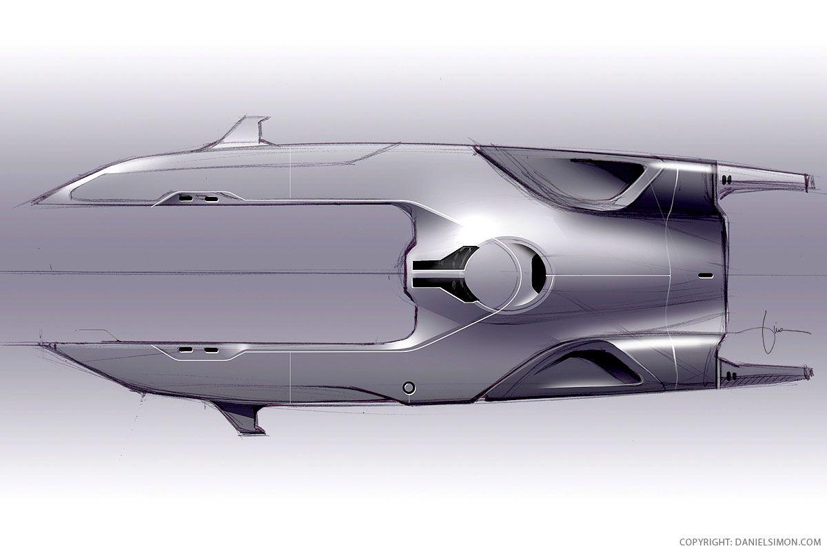 Pin De Marcel Maury En Concept Sketch Disenos De Unas Barcos Y