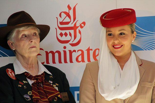 emirates flight attendant uniforms | Emirates Flight Attendant ...