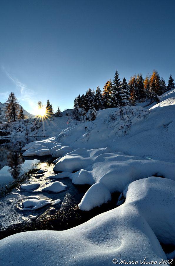 Lago delle Pozze, Trentino, Italy