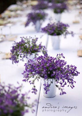 Oh This Old Centerpiece Lavender Centerpieces Wedding Table