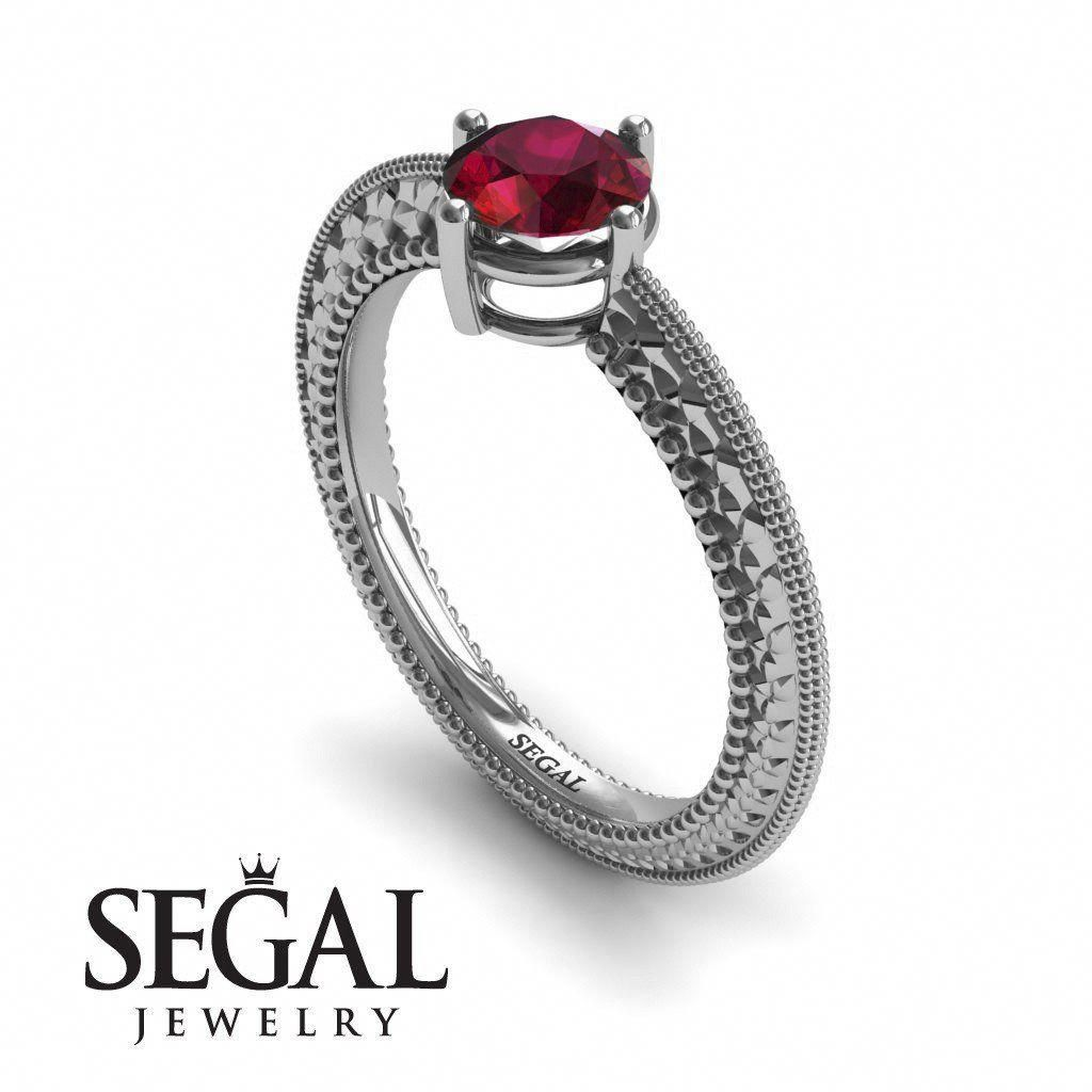 Vintage engagement ring by segal jewelry vintageengagementrings
