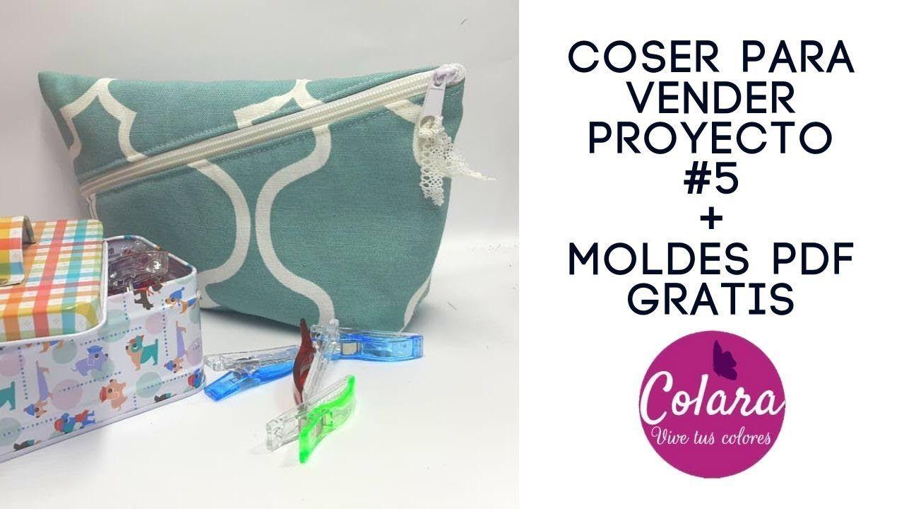 Coser Para Vender Proyecto 5 Sewing To Sell Project 5 Pdf Gratis Free Youtube Cosas Para Vender Estuches De Costura Tutoriales De Costura
