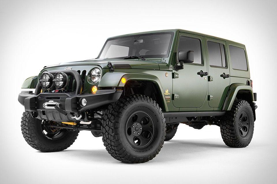the Filson x AEV Jeep by Wrangler