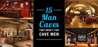15 Sophisticated Man Caves That Aren't For Cave Men