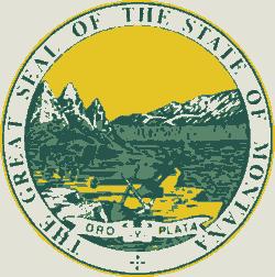 Flag Emblem USA Seal Badge Cross stitch chart pattern New Mexico State