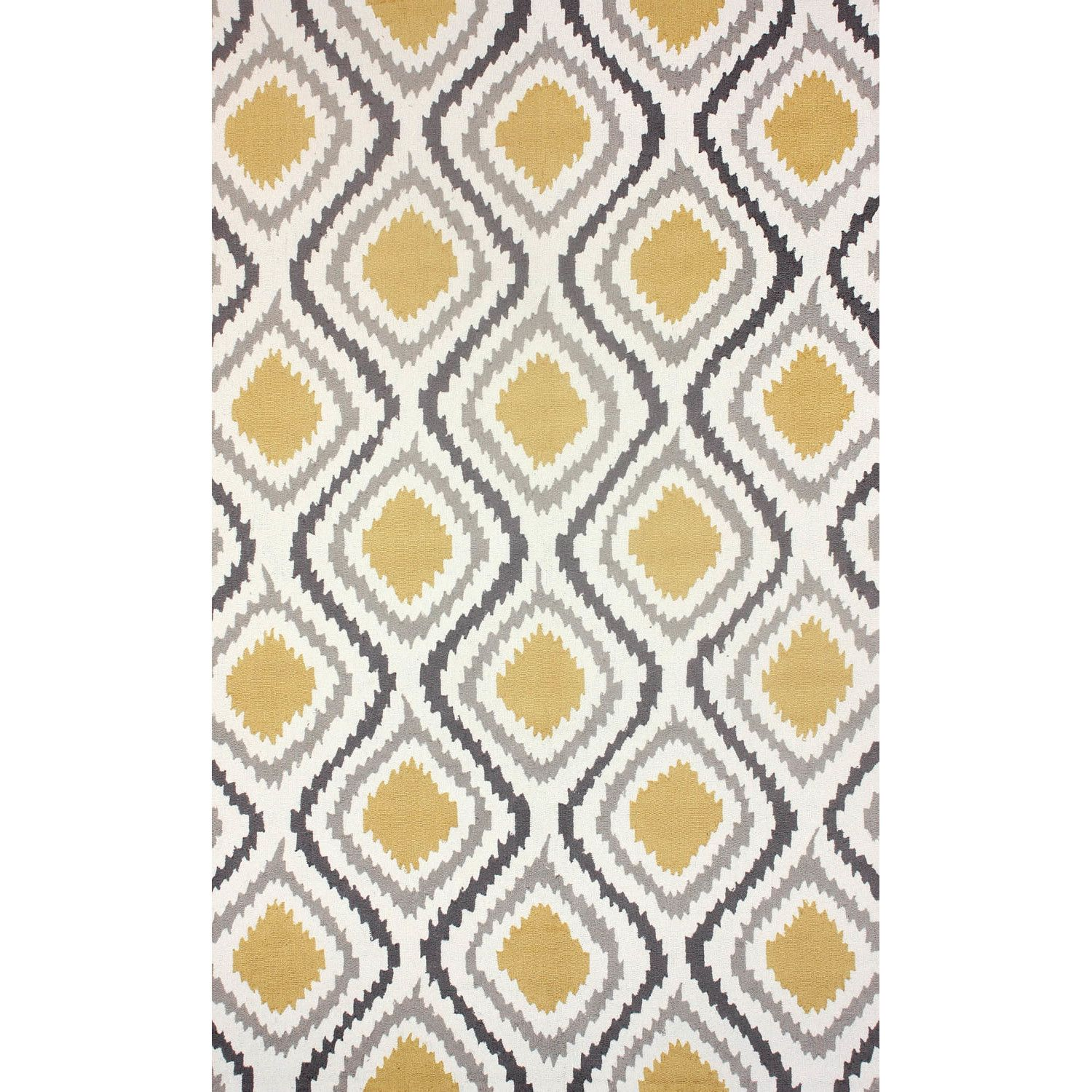 Bungalow Rose Mosca Hand Woven Sunflower Area Rug & Reviews