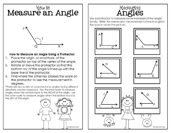 Angle Activities The Angle Family Album Family Album Teaching