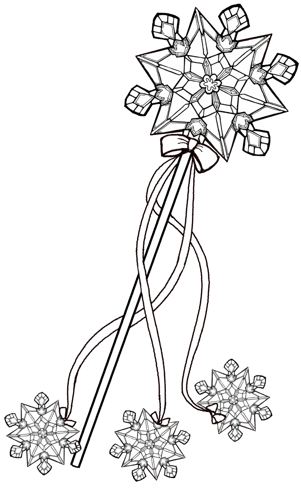 The Enchanted Tree Snow Queen Queen Elsa Printable Crown And Wand Craft Christmas Coloring Printables Christmas Colors Enchanted Tree