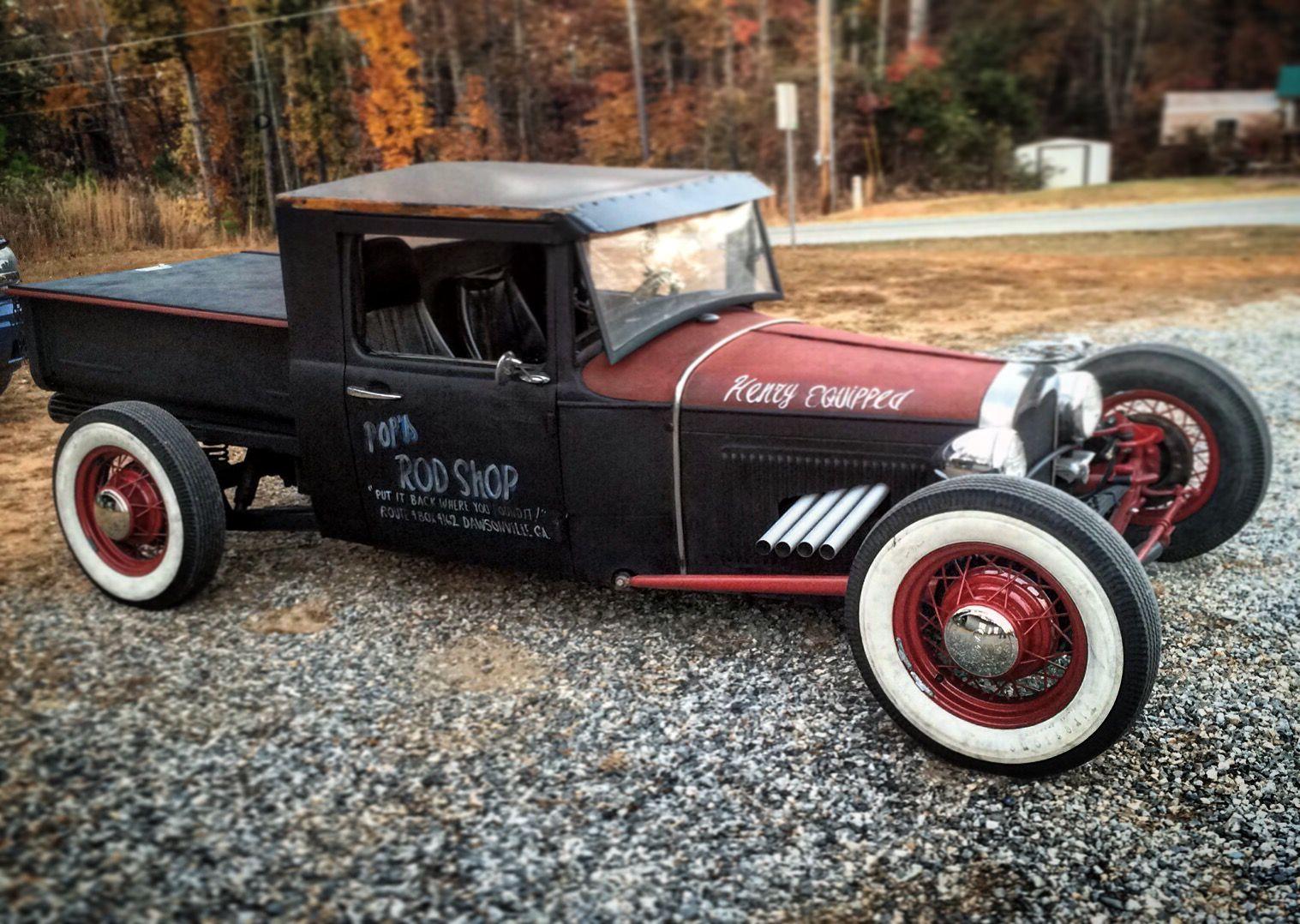 1931 #Ford #ModelA #Pickup #TraditionalHotRod #HotRod #RatRod | Old ...