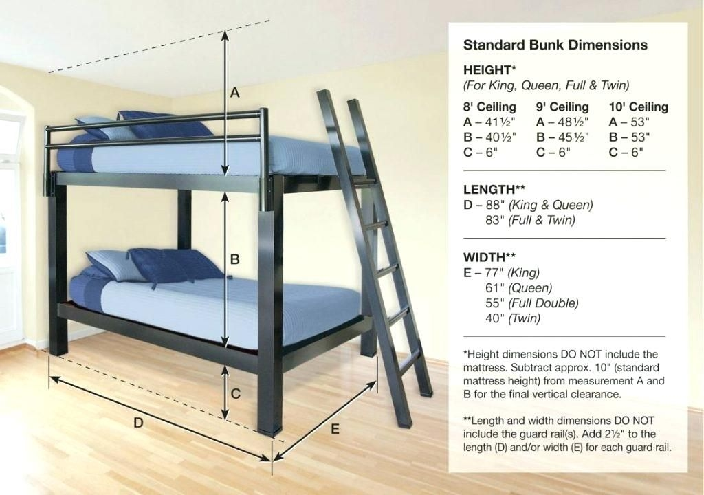 Loft Bed For 8 Foot Ceiling Stupendous In Bunk Beds Built 3 Bunks