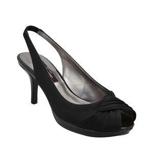 Nina Camala | Black Luster Satin Patent New Styles, Nina Womens, Shoes, Pumps, Platforms, Fashion | Nina Shoes