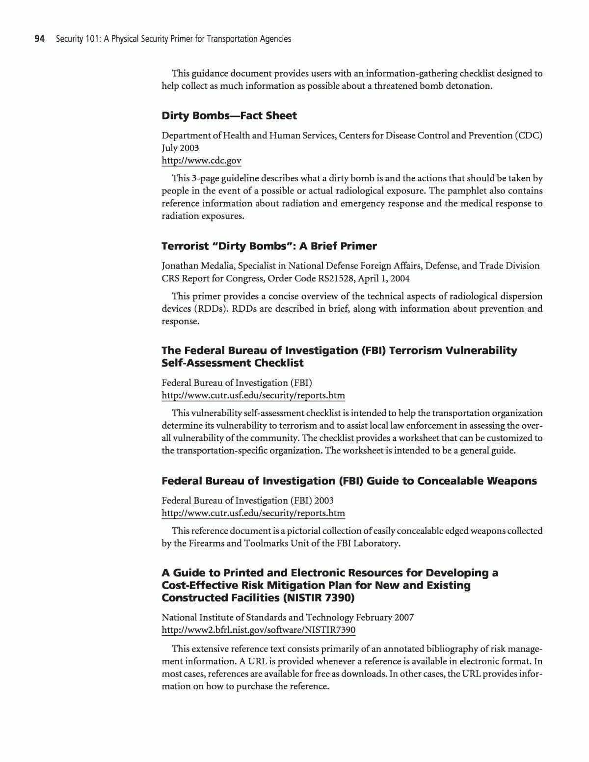 Appendix A Annotated Bibliography Security 101 A In Physical Security Report Template Best Profess Security Report Report Template Book Report Templates