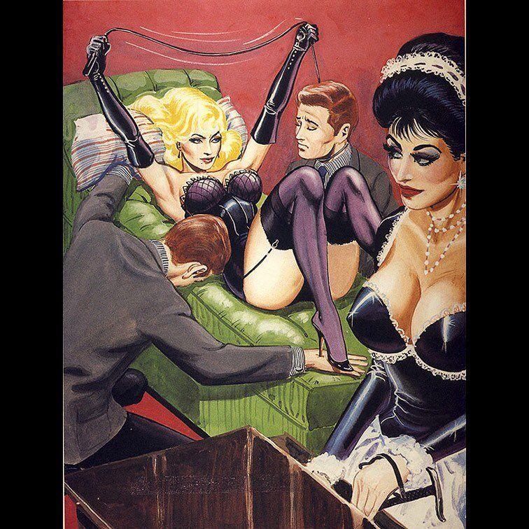 Domina BDSM Comics