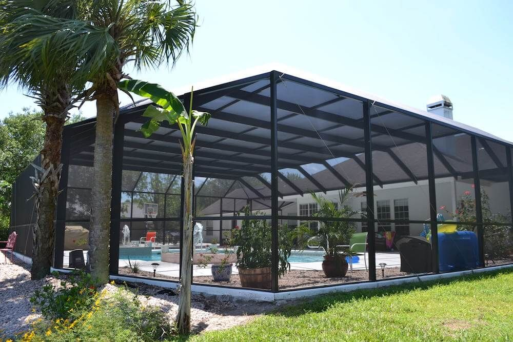 Related Pool Enclosure Costs With Images Screen Enclosures