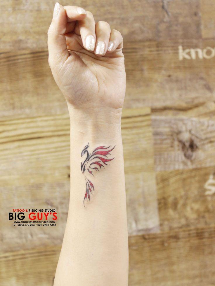Phoenix Tattoo Klein Kleine Handgelenktattoos Handgelenk