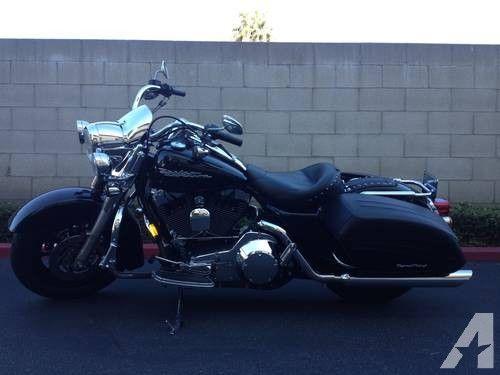 2004 Harley Davidson Road King Custom FLHRSI Black - 8482
