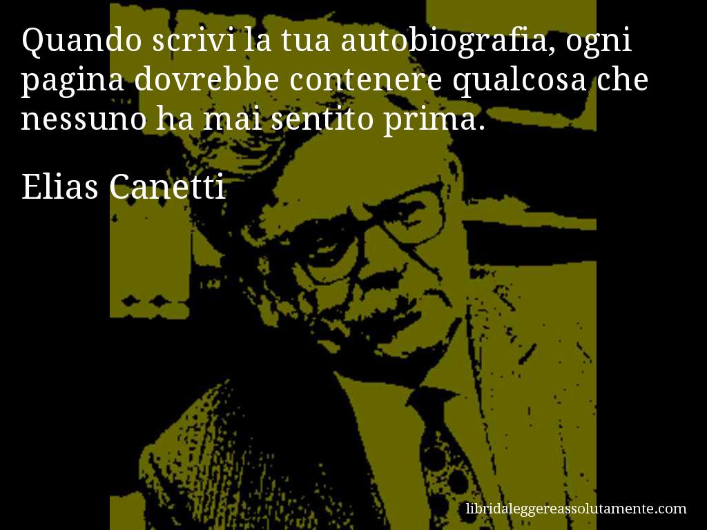 Cartolina con aforisma di Elias Canetti (30)