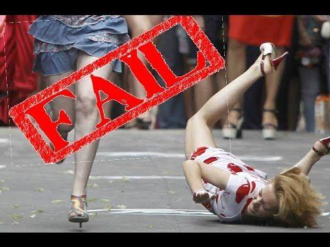 high heels fail compilation  high heels fall  youtube