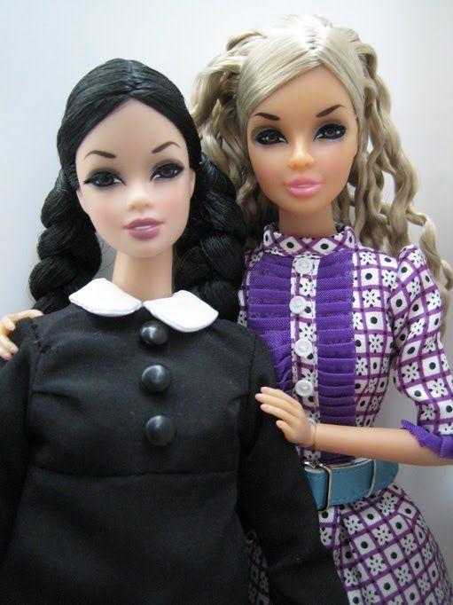 wednesday addams barbie