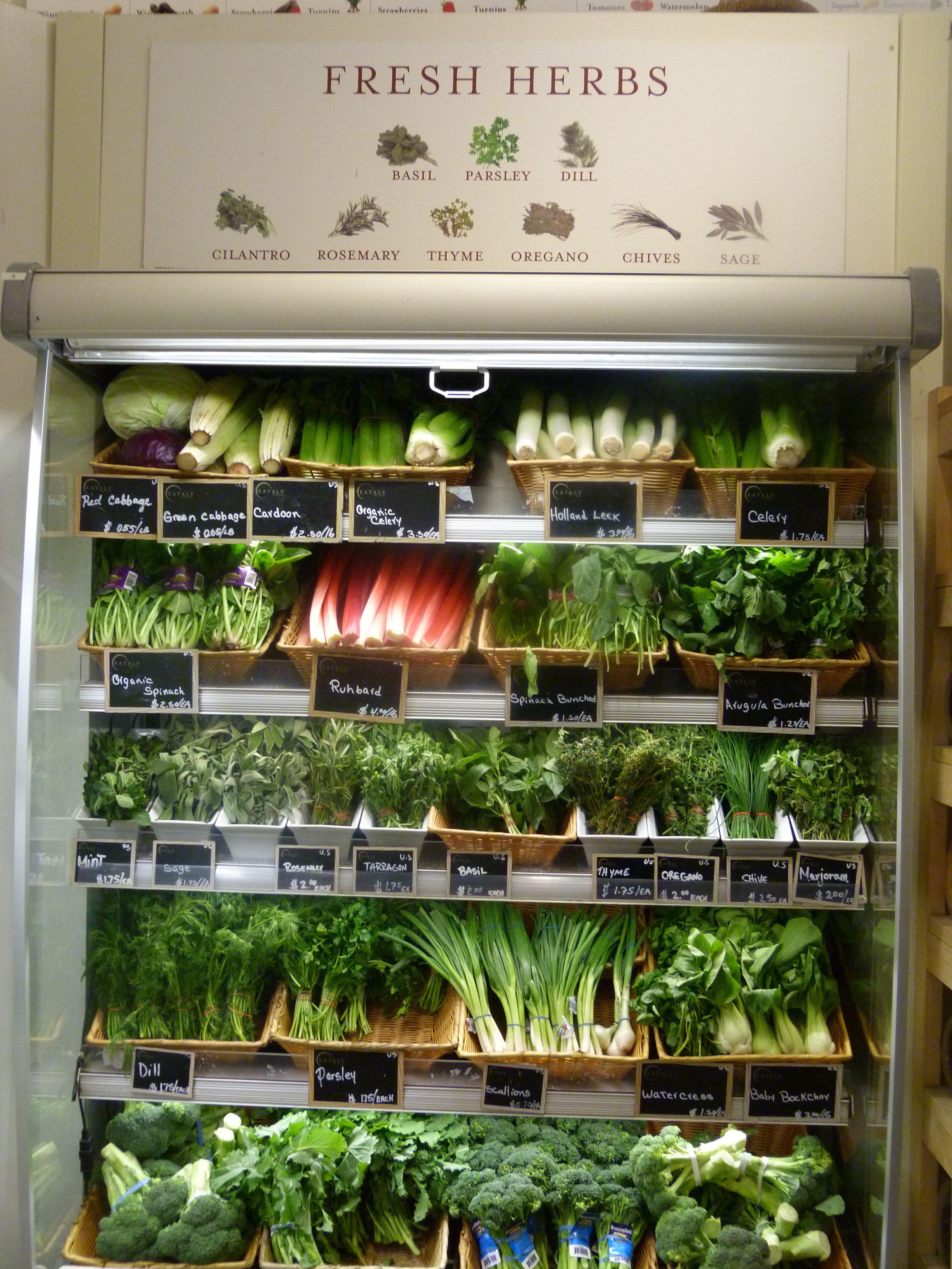 Eataly, Supermarket design