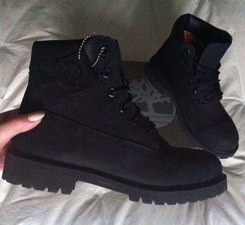 Black Timbs yas | Timberland boots