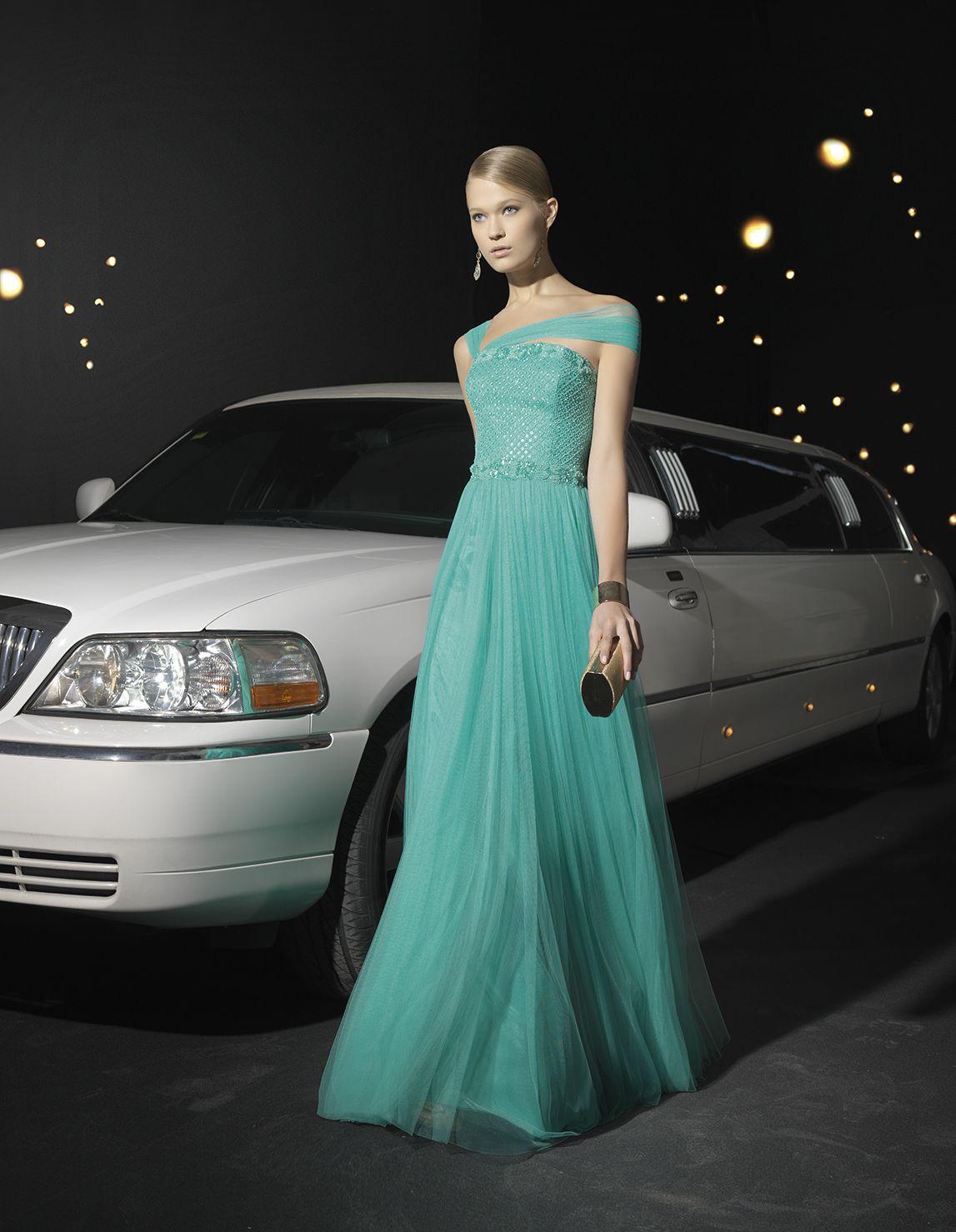 Nuevo vestido publicado! Rosa Clará 2014 mod. Cocktail 274 ¡por sólo ...