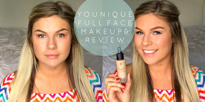 HONEST Younique Full Face Makeup & Review Face makeup
