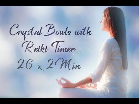 Reiki Timer 1 Min - Reiki Music with Bells Every 1 Minute - YouTube