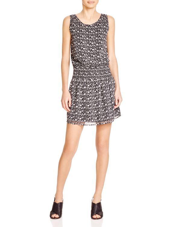 Joie Lawska Floral Silk Dress