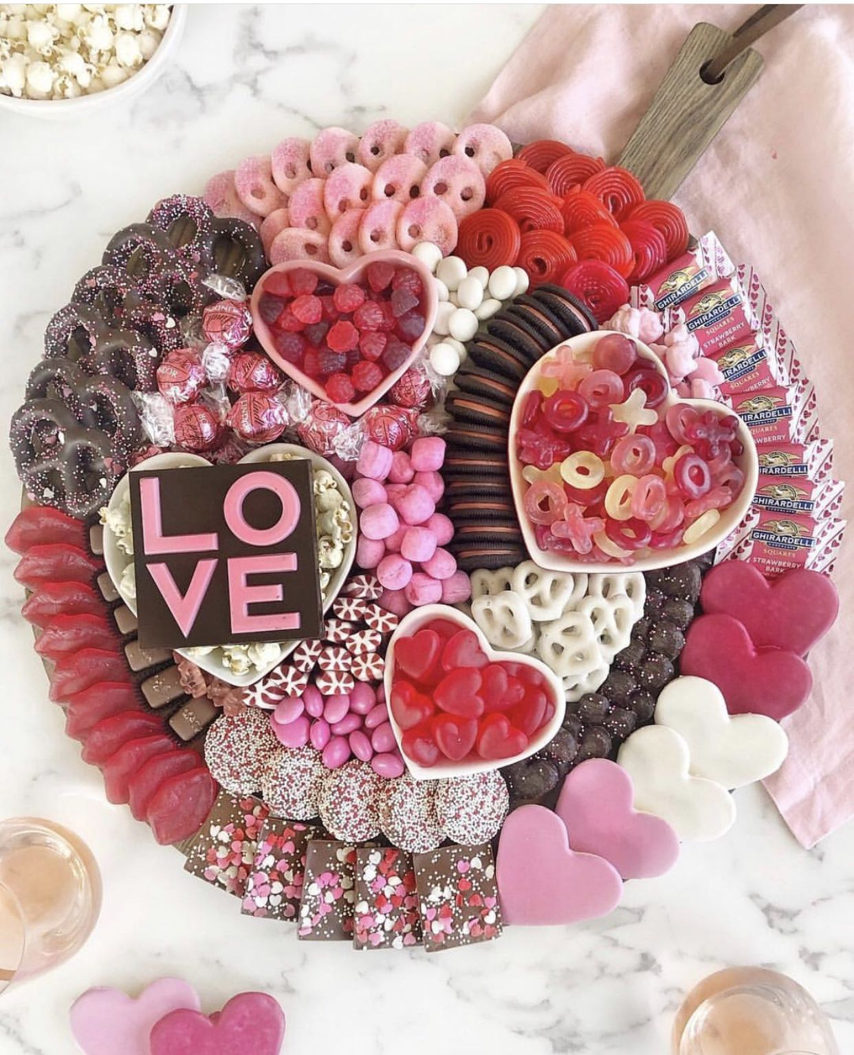 Pin by tarah james on BE MINE | Valentines party food, Valentines day desserts, Valentines day food