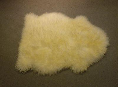 Ikea schaffell lammfell naturfell teppich schafspelz bettvorleger