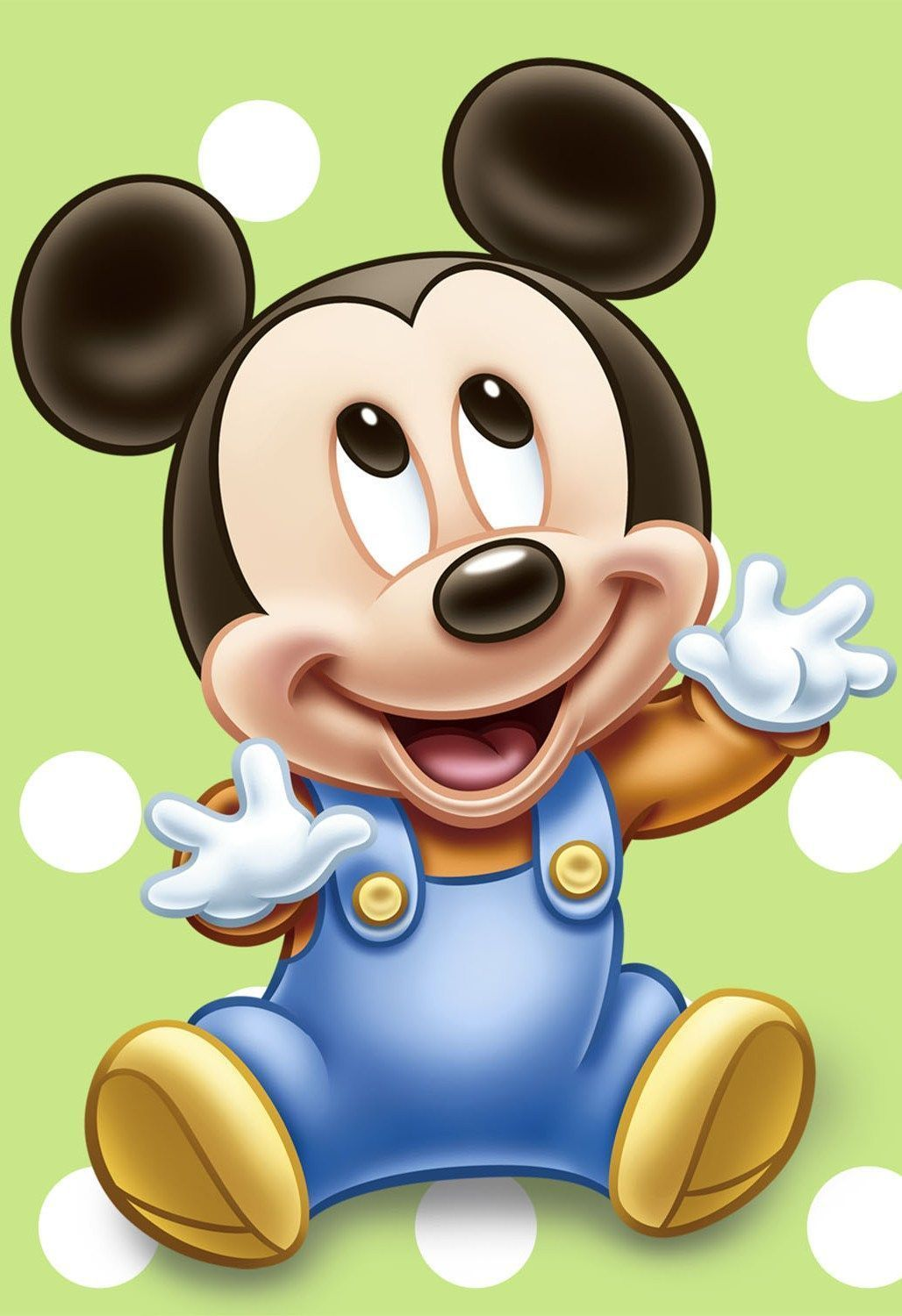efb9fe4ef Mickey Mouse Baby Poster - 2 Sizes Available [01] Disney Kids Poster Pixar