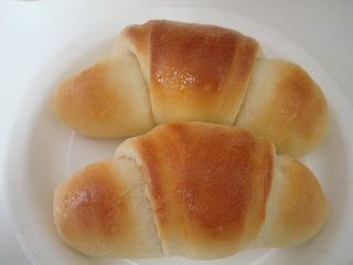 Sweet Dinner Rolls: These are my go to rolls that I make whenever I want to make something everyone raves over. These are truly the best rolls I have ever had. Make sure to knead well (7-8 min) and do not let get as brown as the picture shows. A light brown top yields a perfectly cooked roll inside.