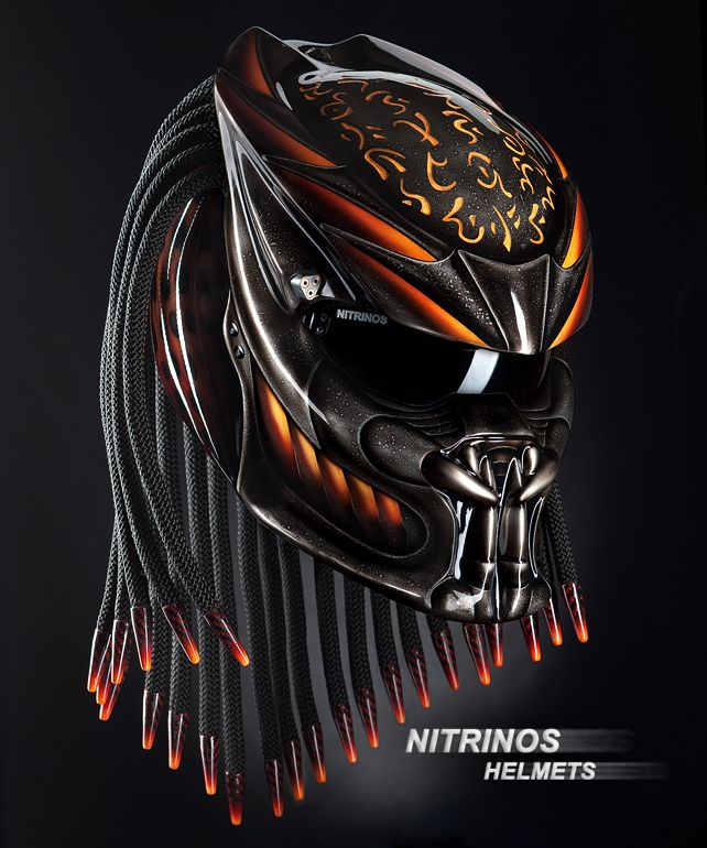 original predator helmet only casques pinterest. Black Bedroom Furniture Sets. Home Design Ideas
