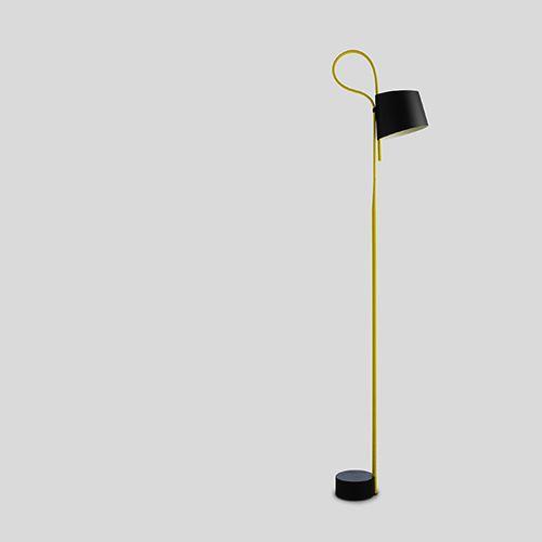 Fresh Rope Trick gulvlampe fra Hay Moderne lampe der giver et behageligt lys og passer