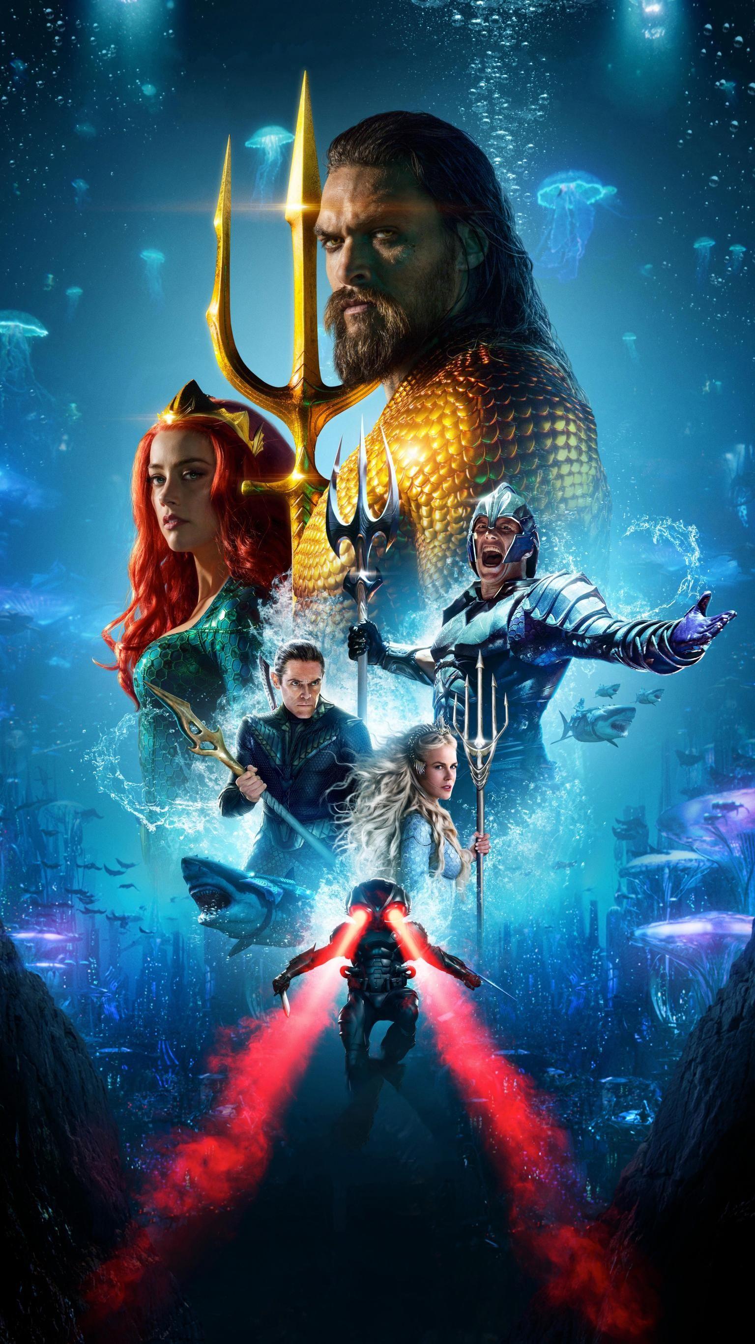 Moviemania Textless High Resolution Movie Wallpapers Aquaman Film Aquaman Aquaman 2018