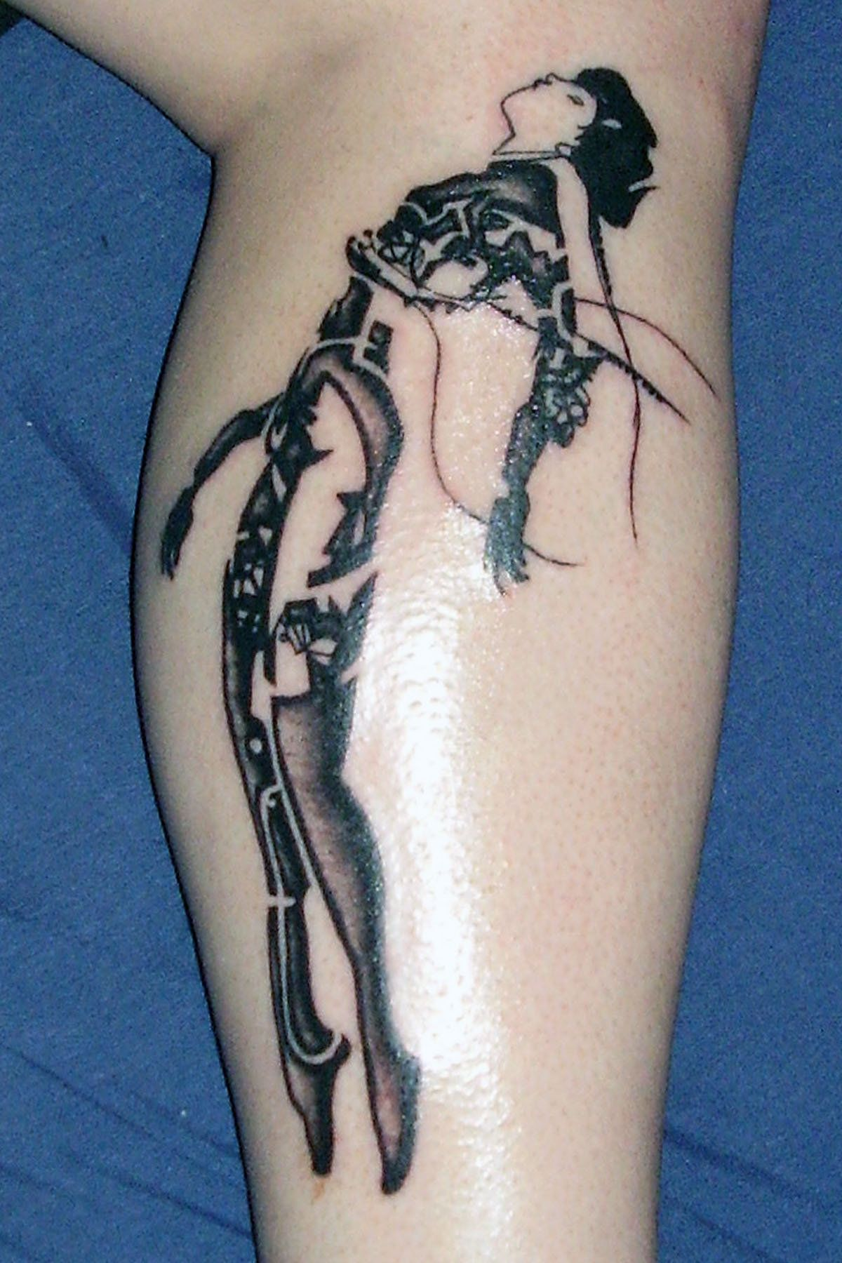 Ghost In The Shell Tattoo By Kryoide Shell Tattoos Tattoos Cyberpunk Tattoo