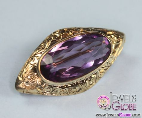 Antique Gold Brooches For Women ม ร ปภาพ