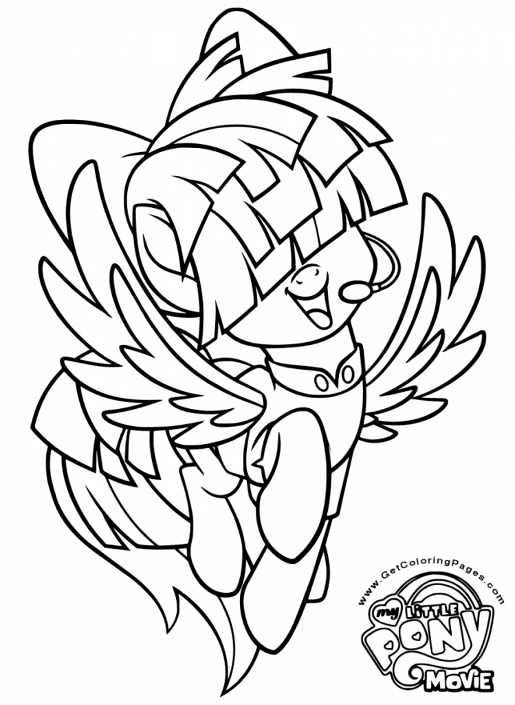 coloring pages mlp My Little Pony The Movie Coloring Page Songbird Serenade | my  coloring pages mlp