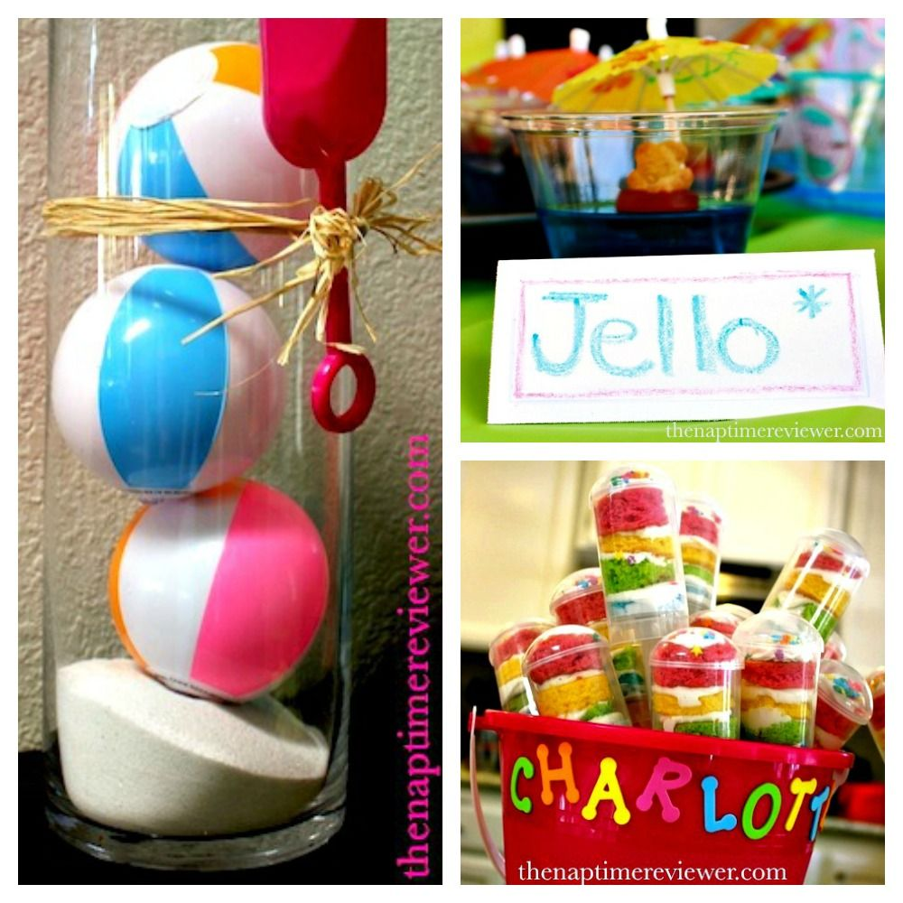 Pool Party Themes And Ideas kids pool party themes Diy Pool Party Ideas