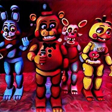 The Toys! | Our Friends and I! (FNAF) | Five nights at