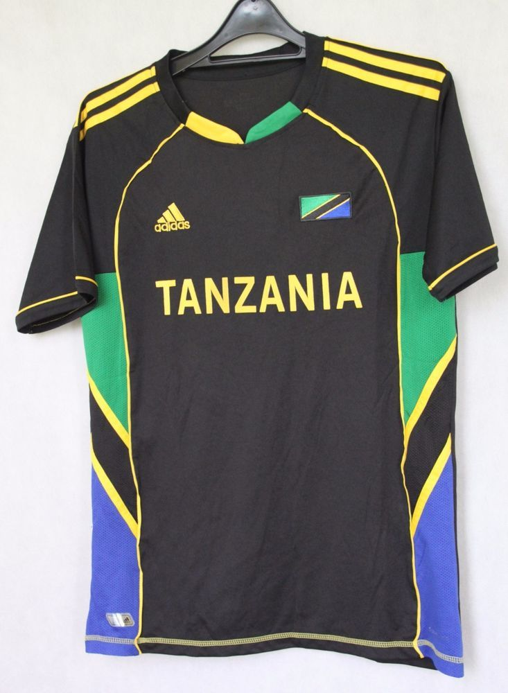 d00314d58 ADIDAS TANZANIA NATIONAL TEAM FOOTBALL JERSEY SHIRT sz XL MAGLIA TRIKOT  (003)…