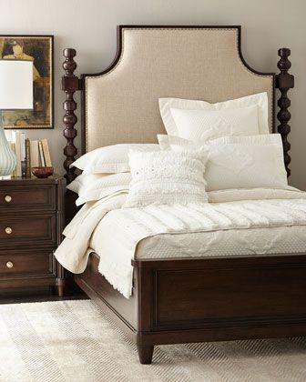 Calhoun Queen Bed Bedrooms King beds and Townhouse