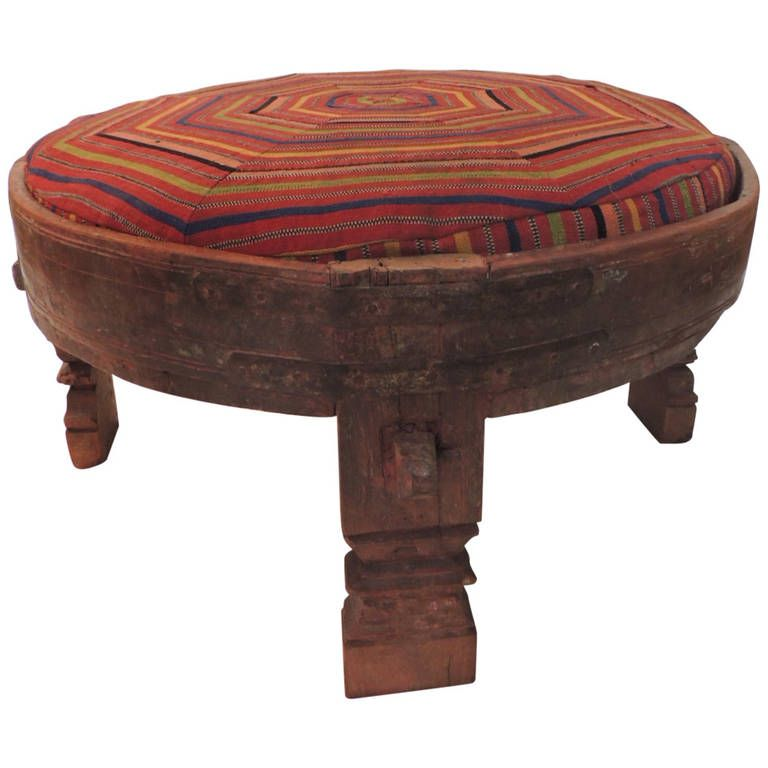Ottoman | From a unique collection of antique and modern ottomans and poufs at https://www.1stdibs.com/furniture/seating/ottomans-poufs/