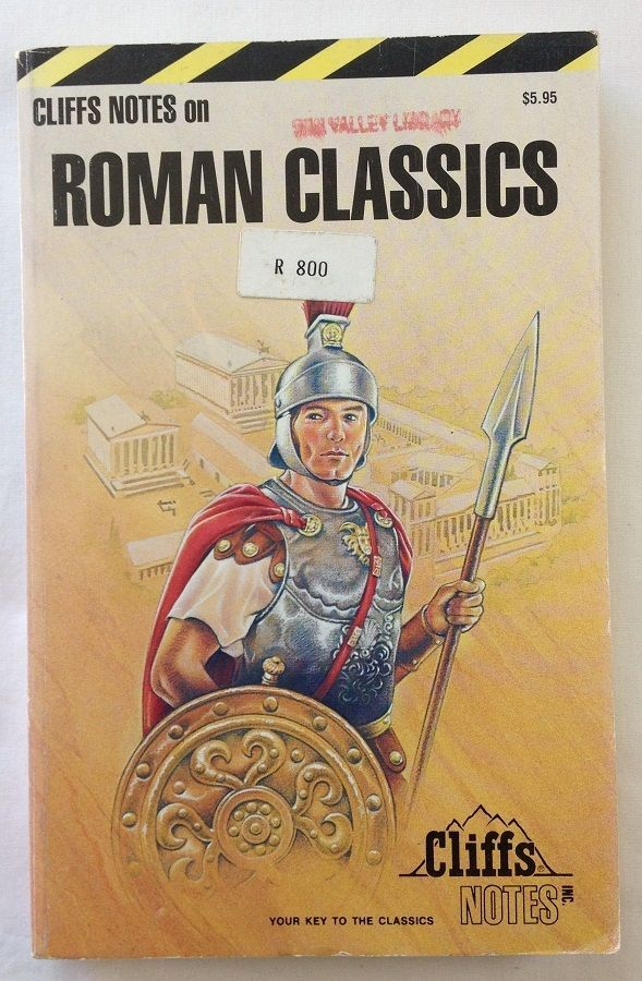 Roman Classics by Cliffs Notes Staff (1988 - Paperback)