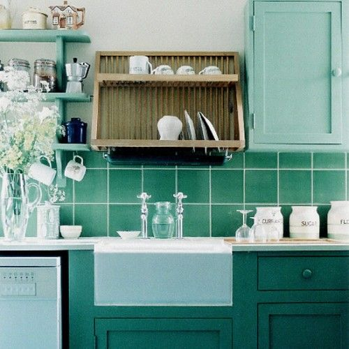 Green Kitchen Tiles